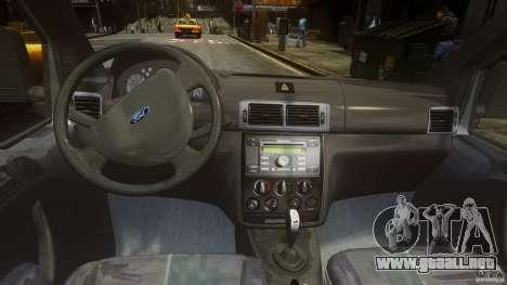 Ford Connect 2007 para GTA 4 visión correcta