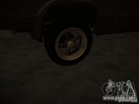 GMC Vandura para vista lateral GTA San Andreas