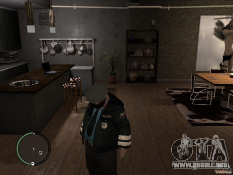 Russian Cops para GTA 4 segundos de pantalla