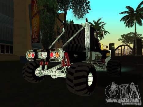 Kenworth W900 Monster para la visión correcta GTA San Andreas