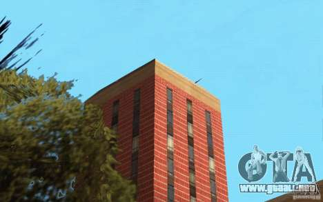 Nuevas texturas para el hospital en Los Santos para GTA San Andreas segunda pantalla