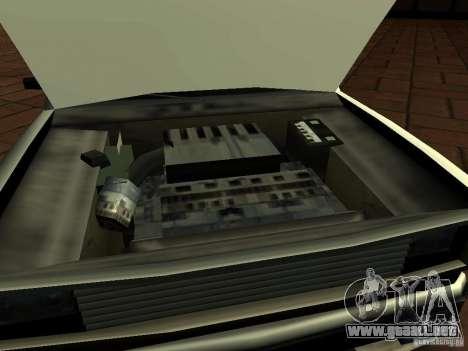 New Tuned Bobcat para la visión correcta GTA San Andreas