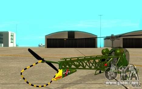 Bell H13 para la visión correcta GTA San Andreas