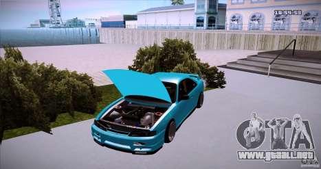 Nissan Silvia S14 JDM WAY para GTA San Andreas vista posterior izquierda