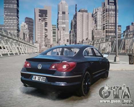 Volkswagen Passat CC para GTA 4 left