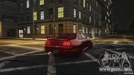 Nissan Skyline R33 GTR V-Spec para GTA 4 visión correcta