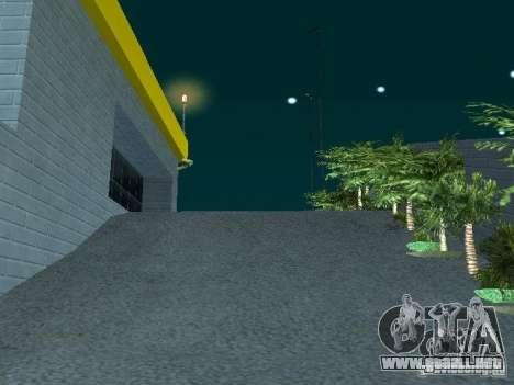 Nuevo showroom en San Fierro para GTA San Andreas quinta pantalla