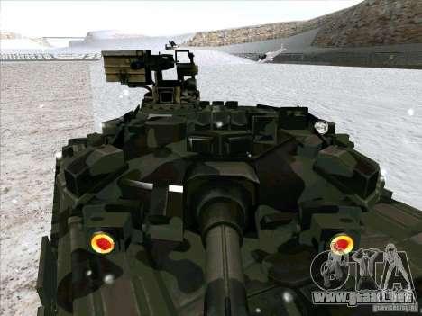 T-90 de Battlefield 3 para visión interna GTA San Andreas