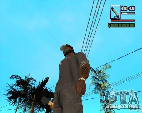 Cohete m-24 para GTA San Andreas segunda pantalla