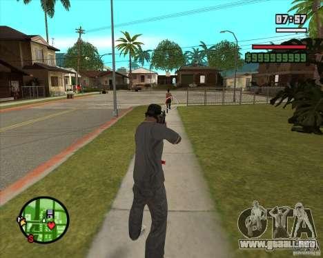 GTA IV Target v.1.0 para GTA San Andreas quinta pantalla