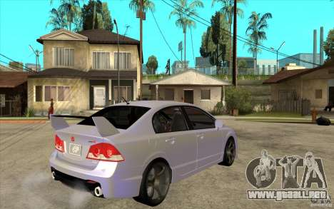 Honda Civic Mugen v1 para la visión correcta GTA San Andreas