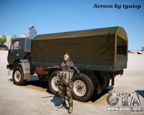 Modern Warfare 2 Soap para GTA 4 segundos de pantalla