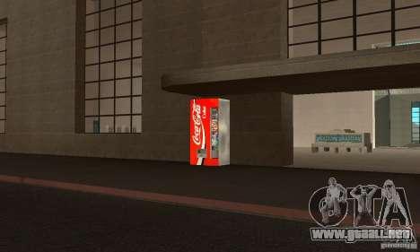 Cola Automat 3 para GTA San Andreas segunda pantalla