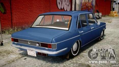 Peykan 1348 1970 para GTA 4 visión correcta