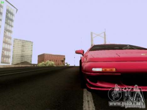 Lotus Esprit V8 para la vista superior GTA San Andreas