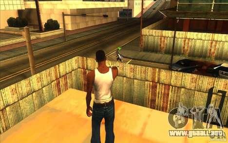 Gran vista para GTA San Andreas segunda pantalla