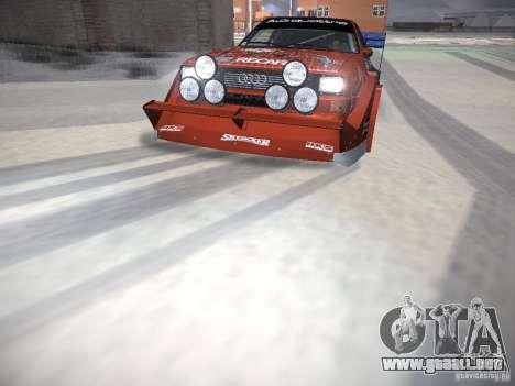 Audi Quattro Pikes Peak para el motor de GTA San Andreas