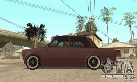 2106 VAZ Street Style para la visión correcta GTA San Andreas