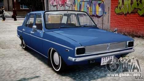 Peykan 1348 1970 para GTA 4 left