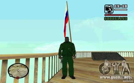 La bandera de Rusia en Chiliad para GTA San Andreas tercera pantalla