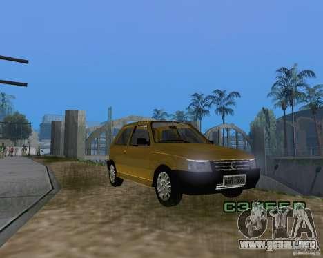 Fiat Mille Fire 1.0 2006 para la visión correcta GTA San Andreas