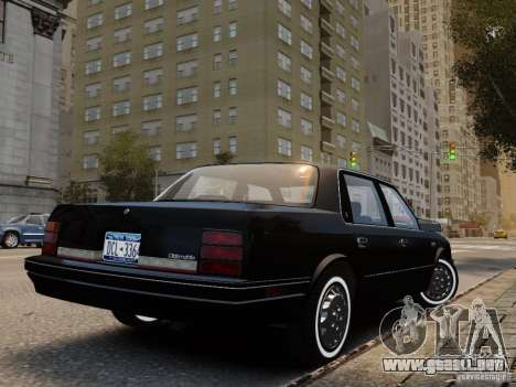 Oldsmobile Cutlass Ciera 1993 para GTA 4 left