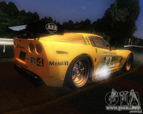 Chevrolet Corvette Drift para la visión correcta GTA San Andreas