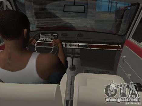 VAZ 2101 para las ruedas de GTA San Andreas