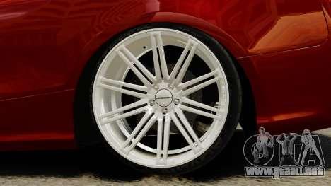 Audi RS5 2012 para GTA 4 vista hacia atrás