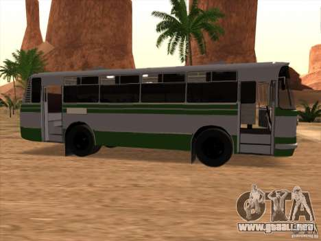 Nuevos scripts para autobuses. 2.0 para GTA San Andreas segunda pantalla