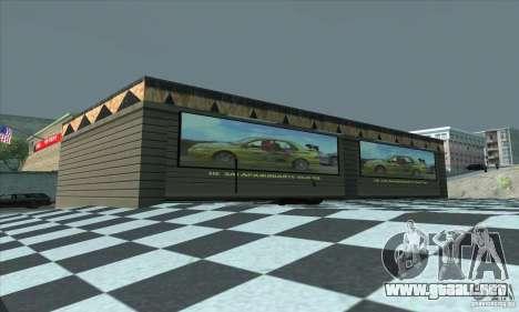 El garaje actualizado CJ en SF para GTA San Andreas