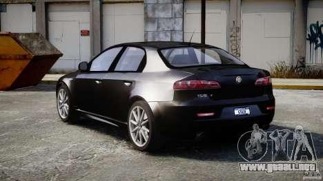 Alfa Romeo 159 Li v2 para GTA 4 vista interior