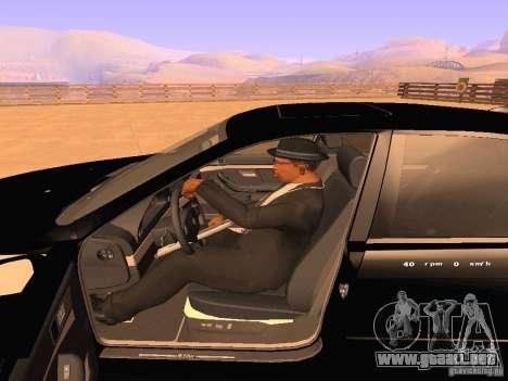 BMW M5 E39 Stanced para la vista superior GTA San Andreas
