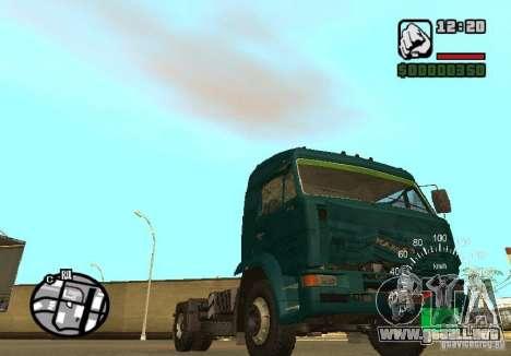 Kamaz 5460 para la visión correcta GTA San Andreas