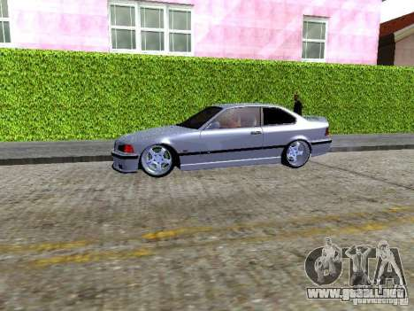 BMW M3 E36 Light Tuning para GTA San Andreas vista hacia atrás