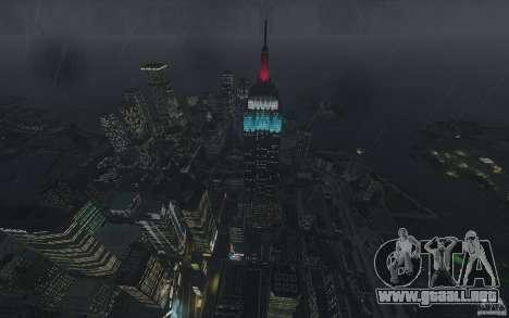Pantallas de menú y arranque de Liberty City en  para GTA San Andreas séptima pantalla
