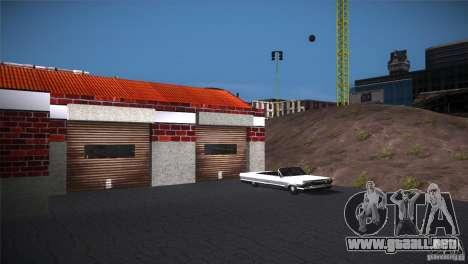 San Fierro Upgrade para GTA San Andreas segunda pantalla