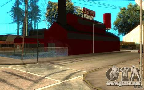 Fábrica de Coca Cola para GTA San Andreas segunda pantalla