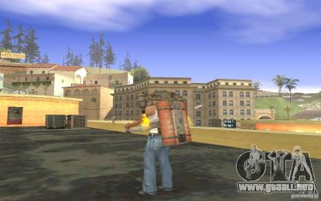 Jetpack en el estilo de la URSS para GTA San Andreas séptima pantalla