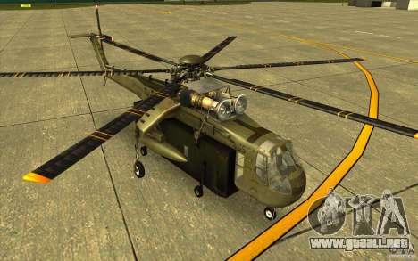 Sikorsky CH-54 Tarhe para GTA San Andreas