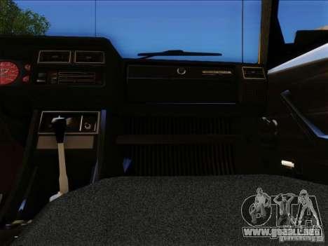 VAZ 2104 Taxi para vista lateral GTA San Andreas