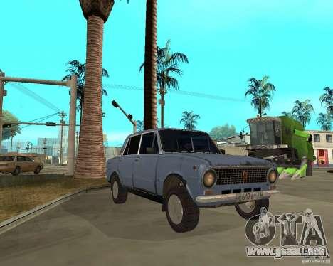 Kopeyka (corregido) para GTA San Andreas vista hacia atrás