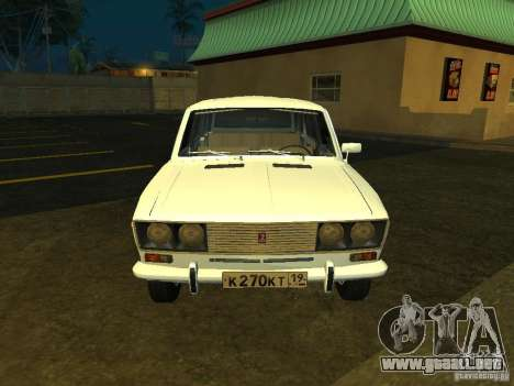 VAZ 2106 Touring para GTA San Andreas left