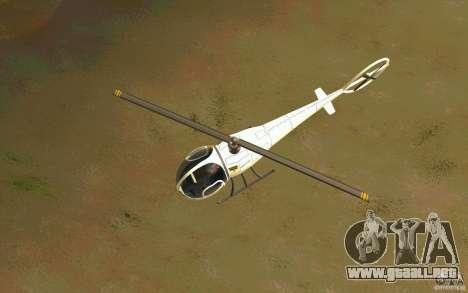 Dragonfly - Land Version para visión interna GTA San Andreas