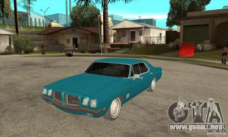 Pontiac LeMans para GTA San Andreas