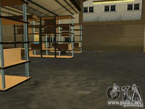 Renovación de la base militar en el puerto para GTA San Andreas octavo de pantalla