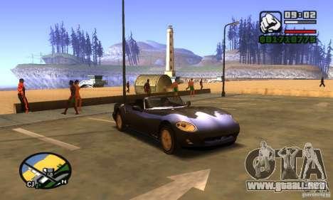 New Banshee [HD] para GTA San Andreas left