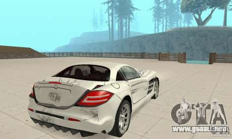 Mercedes-Benz McLaren V2.3 para las ruedas de GTA San Andreas
