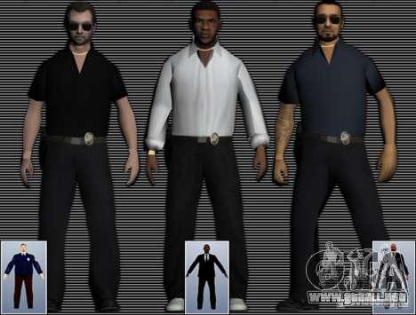 New FBI Agents para GTA San Andreas