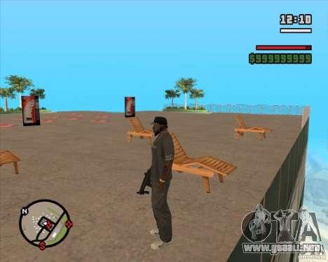 CJ-alcalde para GTA San Andreas quinta pantalla